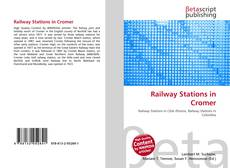 Bookcover of Railway Stations in Cromer