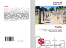 Bookcover of Preslav