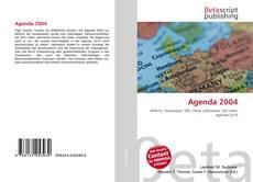 Capa do livro de Agenda 2004