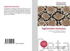Buchcover von Agkistrodon bilineatus