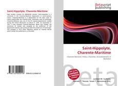 Bookcover of Saint-Hippolyte, Charente-Maritime