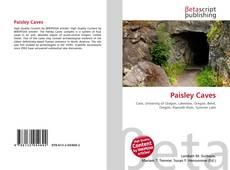 Capa do livro de Paisley Caves