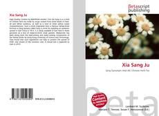 Xia Sang Ju kitap kapağı