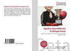 Copertina di Agatha Award/Bester Erstlingsroman