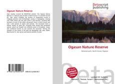 Ogasan Nature Reserve的封面