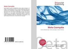 Bookcover of Wola Czarnyska