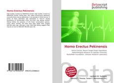 Bookcover of Homo Erectus Pekinensis