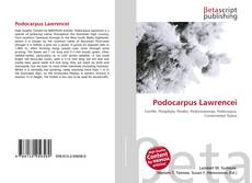 Обложка Podocarpus Lawrencei
