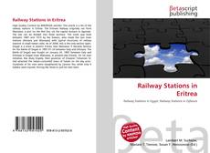 Bookcover of Railway Stations in Eritrea