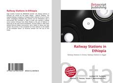 Bookcover of Railway Stations in Ethiopia