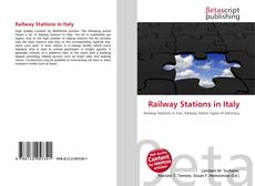 Bookcover of Railway Stations in Italy