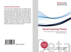 Bookcover of Social Learning Theory