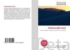 Bookcover of Padmanabh Jaini