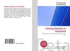 Bookcover of Railway Stations in Swaziland