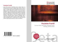 Buchcover von Paulette Frankl