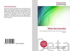 Bookcover of Wola Karczewska