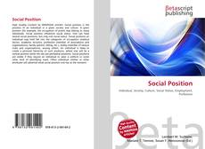 Bookcover of Social Position