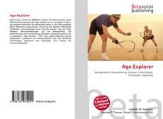 Age Explorer kitap kapağı