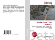 Capa do livro de Abercrombie Class Monitor
