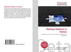 Bookcover of Railway Stations in Yemen