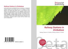 Bookcover of Railway Stations in Zimbabwe