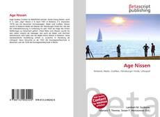 Capa do livro de Age Nissen