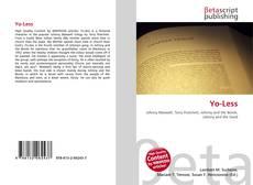 Capa do livro de Yo-Less