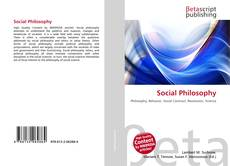 Bookcover of Social Philosophy