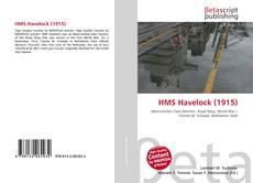 Capa do livro de HMS Havelock (1915)