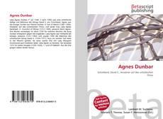 Agnes Dunbar的封面