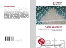 Обложка Agnes Dünneisen