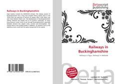 Railways in Buckinghamshire kitap kapağı