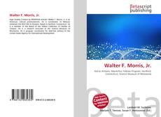 Buchcover von Walter F. Morris, Jr.