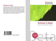 Railways in Nepal kitap kapağı