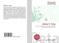 Couverture de Walter F. Tichy