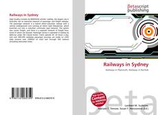 Portada del libro de Railways in Sydney