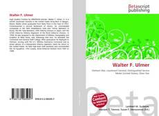 Couverture de Walter F. Ulmer