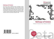 Railways of Greece kitap kapağı