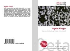 Agnes Finger kitap kapağı