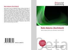 Обложка Rob Adams (Architect)