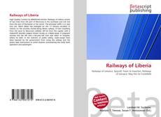Portada del libro de Railways of Liberia
