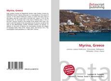 Bookcover of Myrina, Greece
