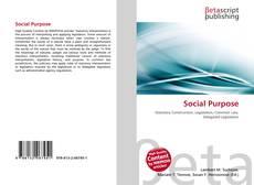 Bookcover of Social Purpose