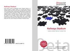 Portada del libro de Railways Stadium