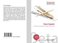 Buchcover von Yoan Capote