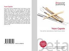 Copertina di Yoan Capote