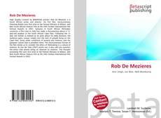 Buchcover von Rob De Mezieres