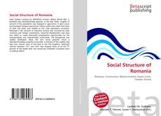Bookcover of Social Structure of Romania