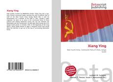 Bookcover of Xiang Ying