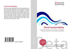 Bookcover of Social Sustainability